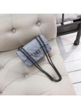Chic Geometric Design Chain Shoulder Bags