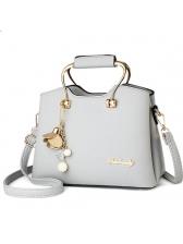 Easy Matching Pendant Decor Handbags With Belt