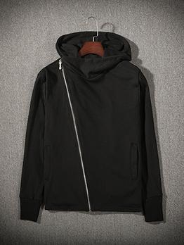 Autumn Zipper Design Hoodies For Men