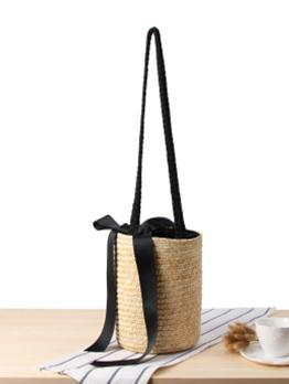 Handmade Summer Holiday Beach Straw Bag