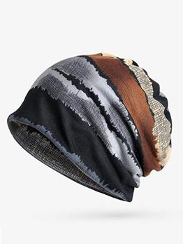 Chic Color Block Unisex Hats