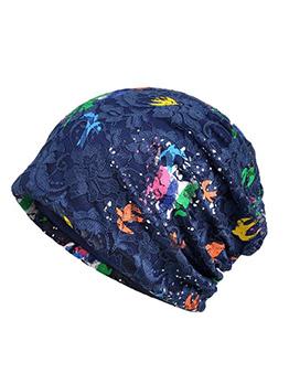 Fashion Lace Colorful Jacquard Weave Hats
