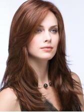 Fashion Side Bang Wave High Temperature Fiber Wig