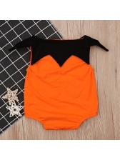 New Arrival Smile Printed Halloween Infant Rompers