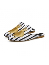 Fashion Embroidery Outdoors Flats Slippers