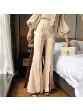 Fashion High Waist OL Flare Palazzo Pants