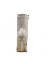 Fashion Diamond Super High Heel Boots