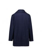 Hot Selling Solid Color Pocket Coats