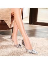 OL Slip On Thin Heel Formal Female Pumps