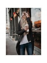 New Arrival Solid Long Sleeves Women Cardigan