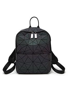 Fashion Irregular Geometric Noctilucent Backpacks