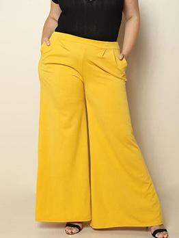 New Arrivl Personality Plus Size Wide Leg Pants