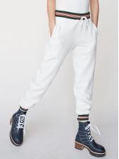 Casual Elastic Pocket Long Pants For Women