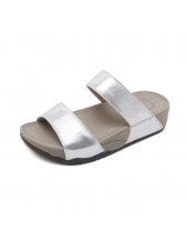 Casual Open Toe Slip On Outdoors Slippers