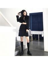 Stylish Lapel Cropped Blazers For Women