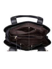 New Arrival Metal Buckle Large Capacity Handbags