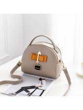 Fashion Bow Design PU Shoulder Bags