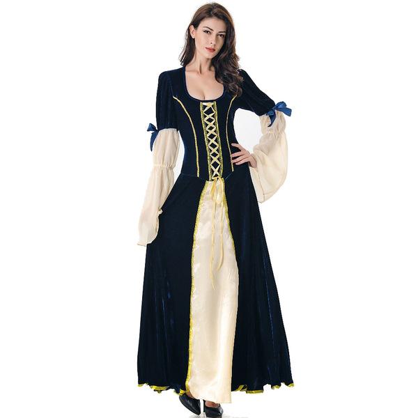 Fashion Halloween Low-cut Witch Dress