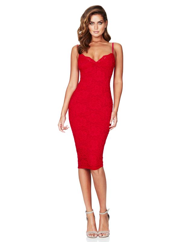 Boutique Euro Style Solid Sexy Spaghetti Strap Dress