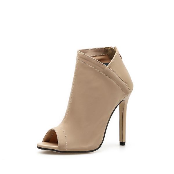 Euro Peep-Toe High Heel Sexy Female Pumps