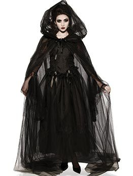 Vampire Bride Cosplay Halloween Costume Sets