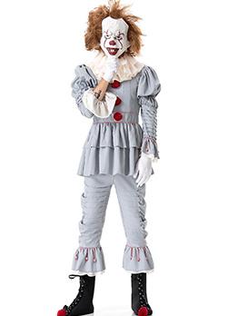 Fashion Solid Halloween Clown Costume For WomenCosplay