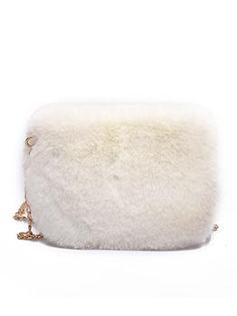 Korean Hot Sale Faux Fur Chains Crossbody Bags