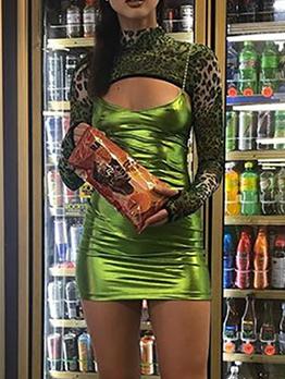 Sexy V Neck Pearl Straps Sleeveless Dress