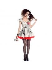 New Arrival Printed Vampire Women Halloween Costume Cosplay