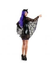 Sexy Female Batman Cosplay Halloween Costume