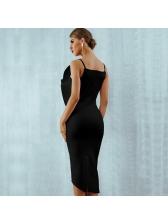 Boutique Hot Sale Fitted Irregular Patchwork Women Dress