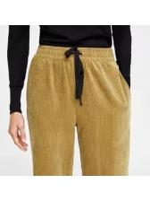 Euro Hot Sale Corduroy Palazzo Pants For Women