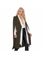 Fashion Cloak Style Sleeveless Solid Shawl Windcoat