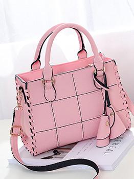 New Arrival Plaid Sweet Shoulder Bag For Lady
