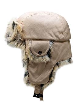 Winter Hot Sale Thicker Plush Ushanka Cap