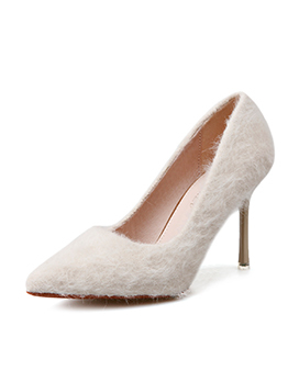 Minimalist Thin Heel Solid Lady Pump Shoes