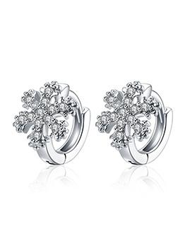 Wholesale7 Hot Sale Snow Stud Earrings For Women
