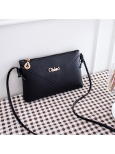 Korean Minimalist Zipper Crossbody Bags Cheap
