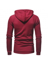 New Arrival Fitted Patchwork Casual Hoodies For Men