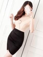 Contrast Color Deep V Neck Bodycon Sexy Dress