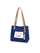 Hot Sale Letter Canvas Tote Bag For Women