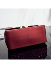 Candy Color Metal Lock Matte Fashion Chain Bags