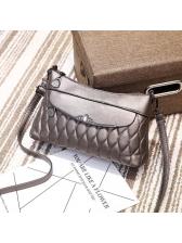 Casual Metal Decor Quilted Wholesale Shoulder Bag