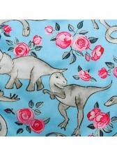 Leisure Dinosaur Flowers Long Pants For Mom