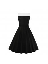 Wholesale7 Hot Sale Patchwork Buttons Dress For Women