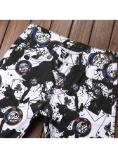 New Arrival Printed Fitted Personality Men Jeans