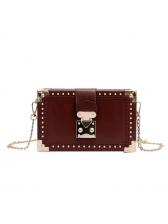 Fashionable Rivet Chain Versatile Shoulder Bags