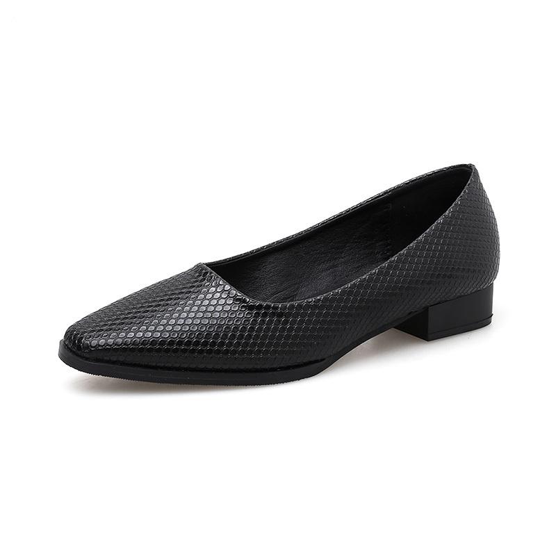 British Style Low Heel Casual Women's Flat