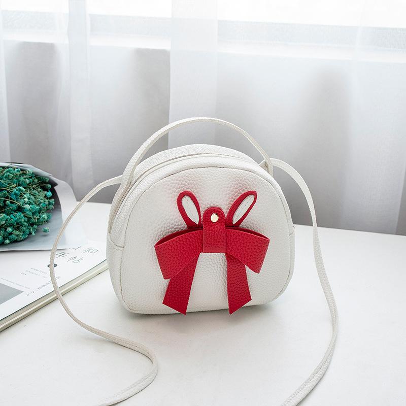 Casual Bow Decor Mini Shoulder Bag For Women