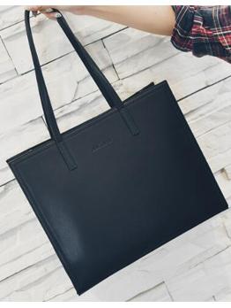 Euro Hot Sale Fashion Solid Tote Bag